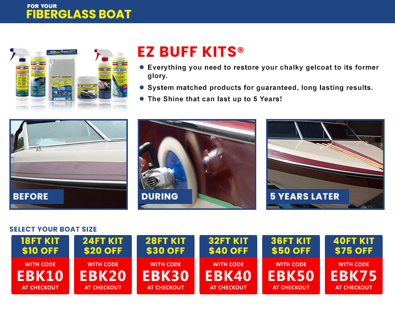 Up to $75 Off EZ Buff Kits