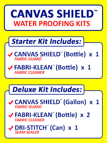 Canvas Shield Water Proofing Kit